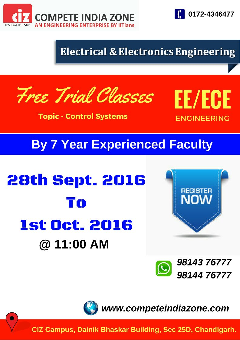 Electrical/Electronics trial classes