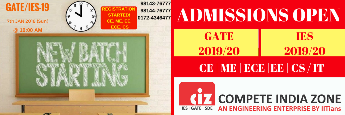GATE Coaching in Chandigarh CIZ